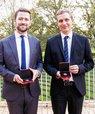De to prisvindere. Foto: Lise Balsby